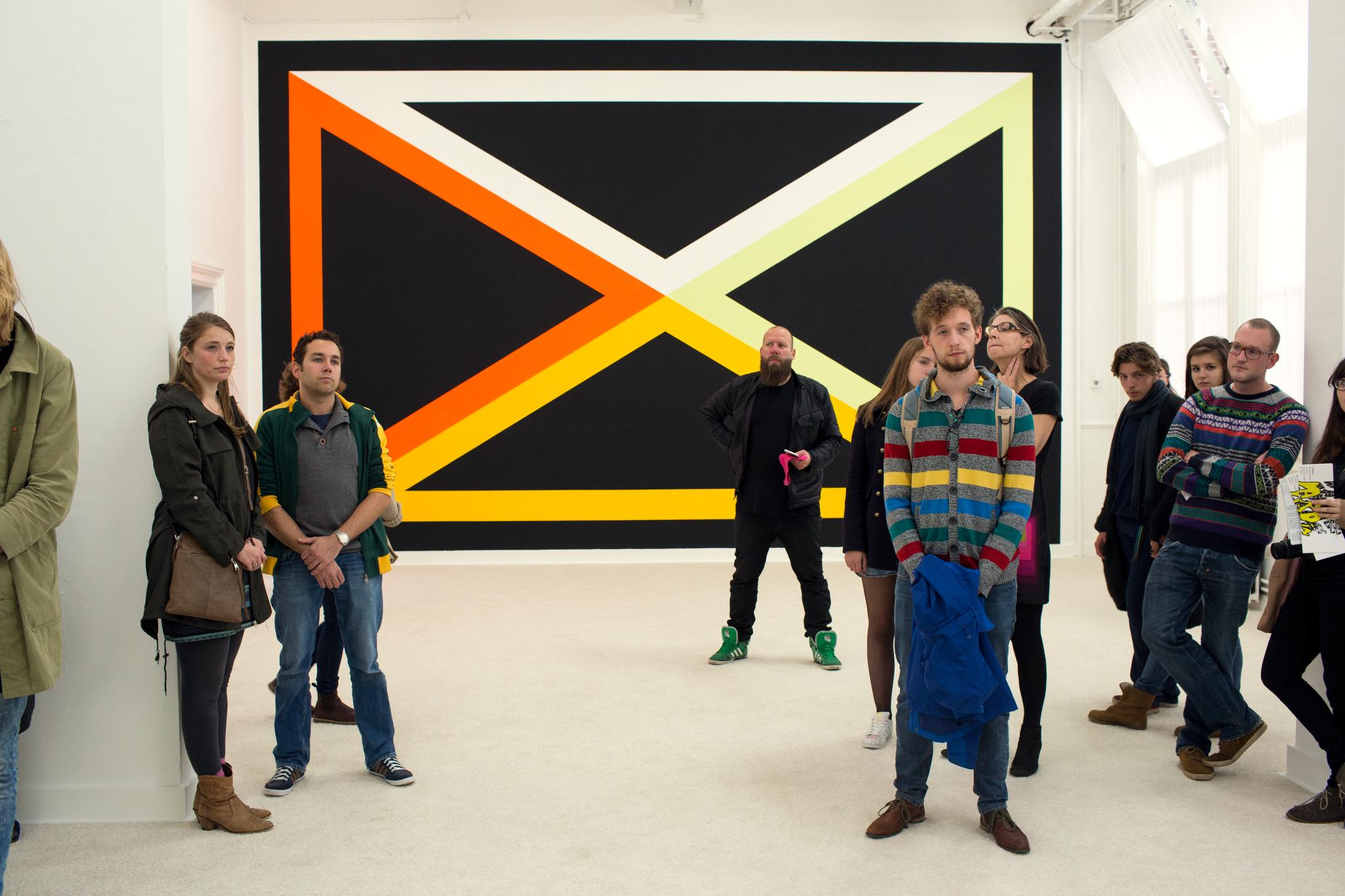 Photo: Dirk-Jan Visser / Groningen- Nederland / 03-10-2015: Opening van tentoonstelling van Jan van der Ploeg kamer in galerie NP3