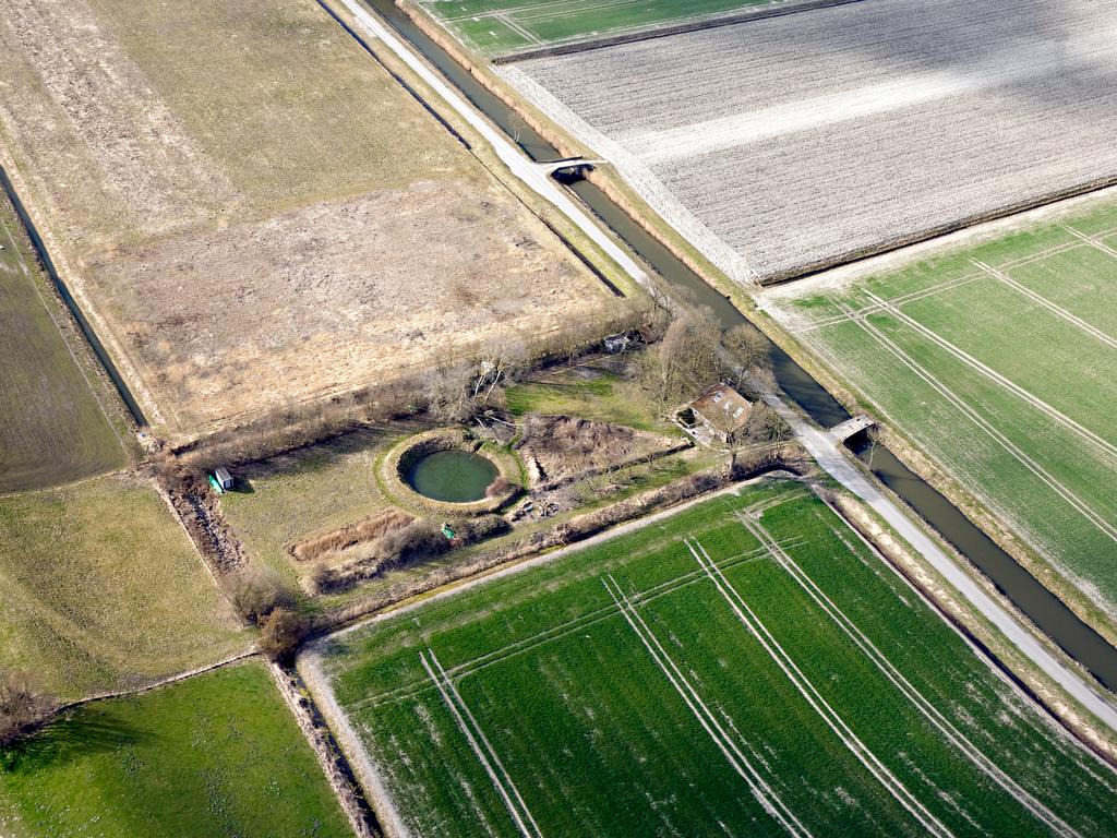 Land art project van Jan van der Ploeg