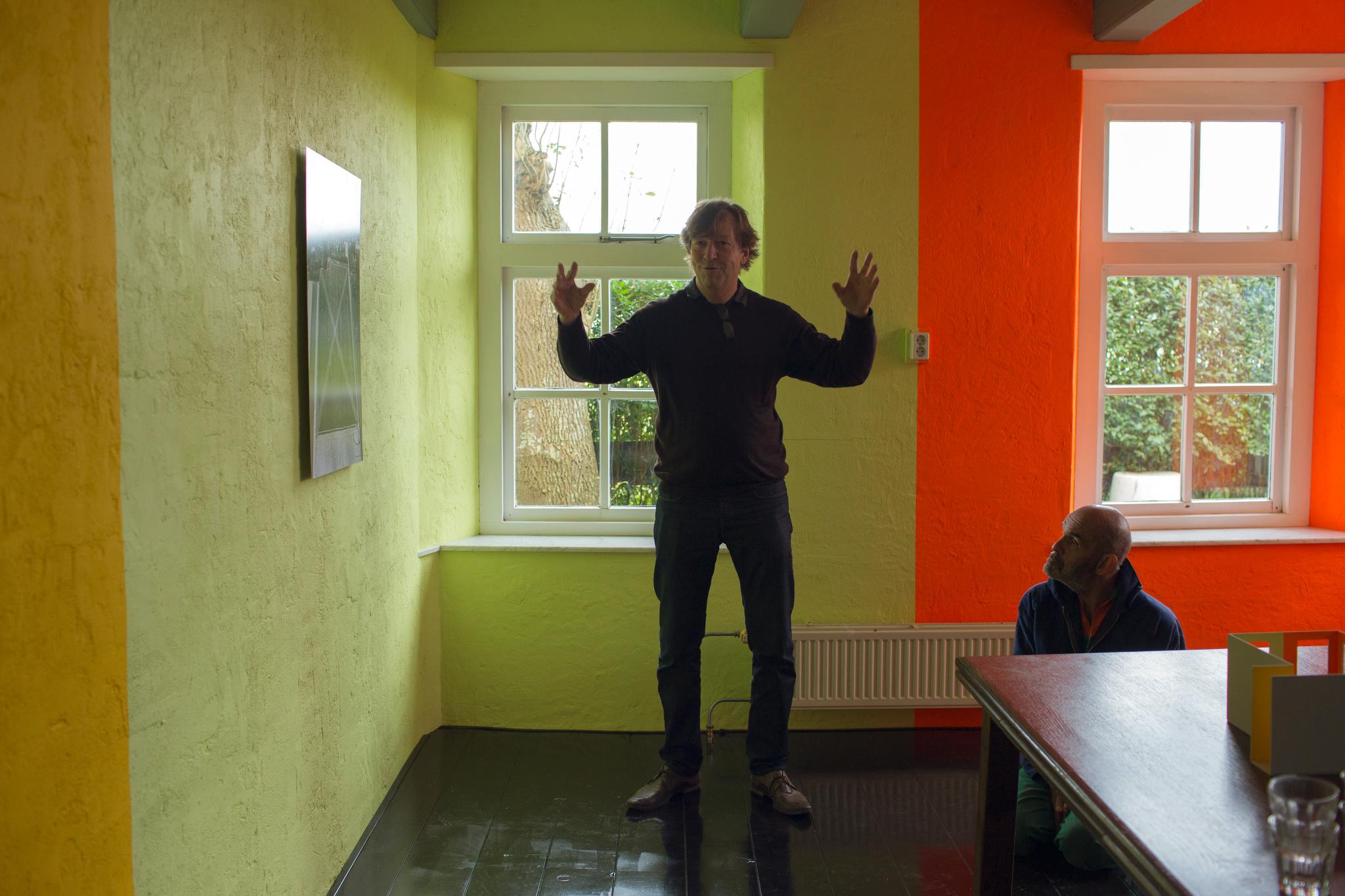 Photo: Dirk-Jan Visser / Usquert - Nederland / 03-10-2015: Opening van Jan van der Ploeg kamer in Atelier aan de Middendijk door Jan van der Ploeg